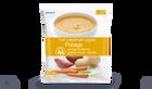 Potage courge butternut, patate douce, carotte