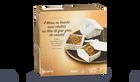 4 mises en bouche mini-chalets au bloc foie gras