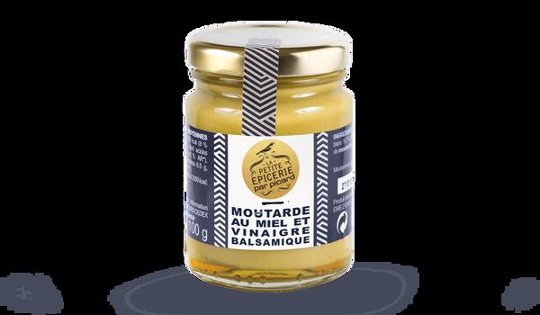 Moutarde au miel et au vinaigre balsamique
