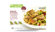 Emincés de poulet, tagliatelles, légumes façon wok