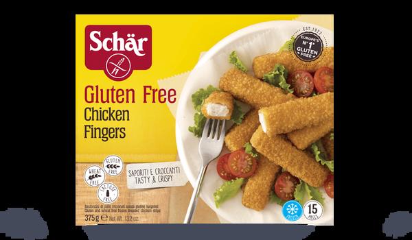 Chicken fingers sans gluten