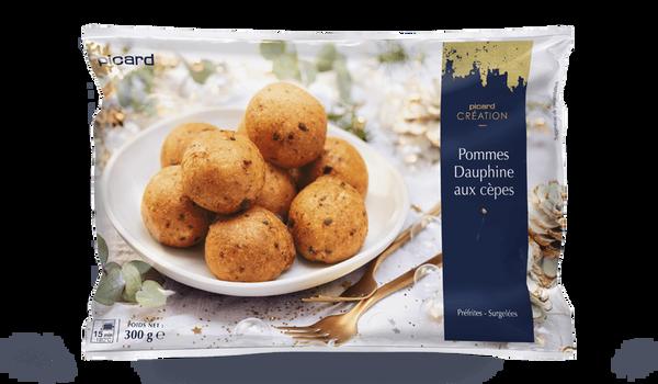 Pommes Dauphine aux cèpes
