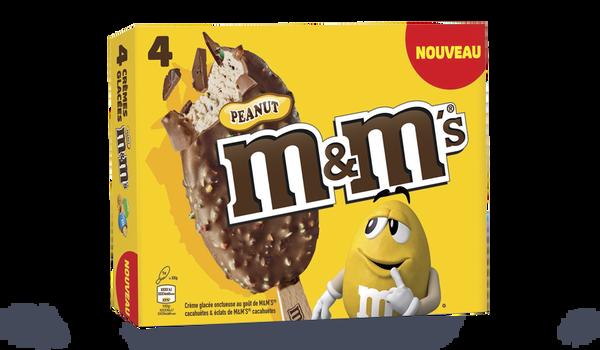 4 bâtonnets MM's peanut