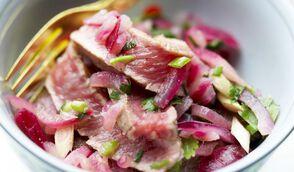 Salade de bœuf à la menthe