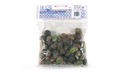 50 escargots petits gris, moyens, sans tortillon