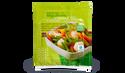 3 sachets vapeur haricots verts, jeunes carottes