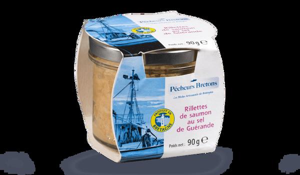 Rillette de saumon au sel de Guérande
