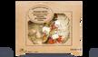 Poulet rôti, légume à la féta, semoule