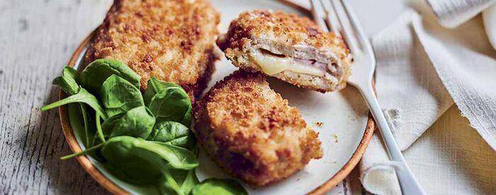 2 cordons de poulet au beaufort A.O.P