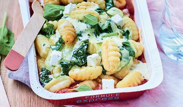 Gnocchis au ch vre et aux pinards sauce tomate surgel s for Picard plats cuisines