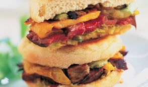 Steak-sandwich d'autruche