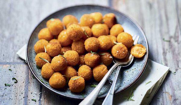 Pommes noisettes à la patate douce