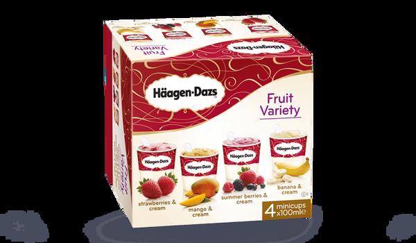 4 mini-pots Fruit Attraction