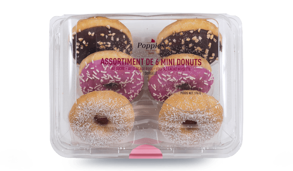 Assortiment de 6 mini-donuts