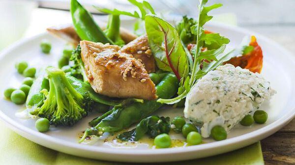 Recette salade estivale recettes les entr es picard for Entree estivale