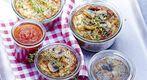 Terrine de champignons, sauce tomate - Rose & Cook