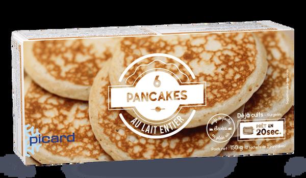 6 pancakes