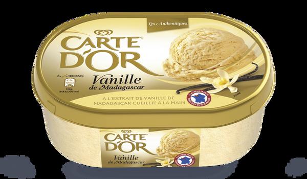 Crème glacée vanille de Madagascar