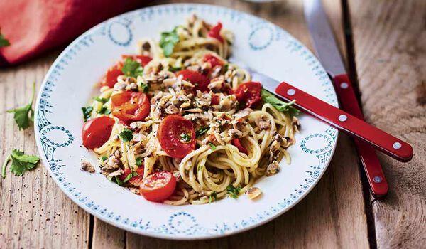 Spaghetti alle vongole surgel s les plats cuisin s picard for Plats cuisines picard