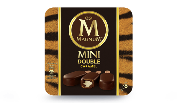 6 mini Magnum double caramel