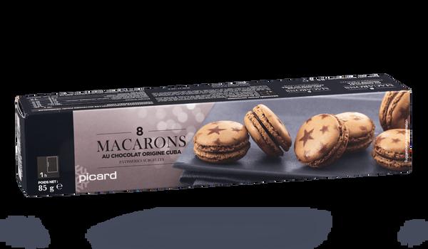 8 macarons au chocolat origine Cuba