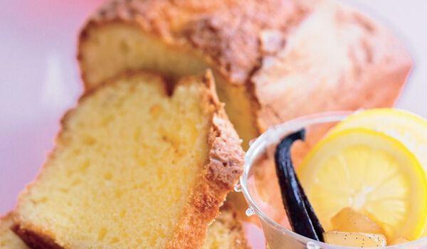 Cake au citron, pur beurre, à réchauffer