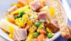 Salade exotique au thon