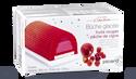 Bûche glacée fruits rouges-pêche de vigne, 8 parts