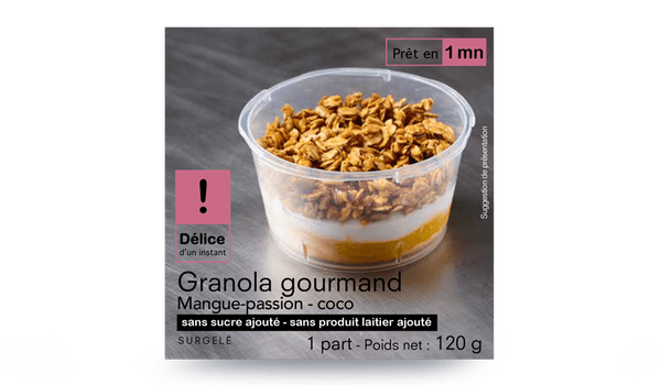 Granola Gourmand - Mangue passion - coco