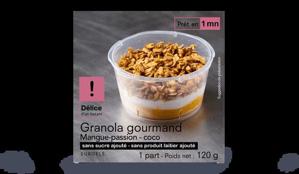 Granola Gourmand - Mangue passion - coco