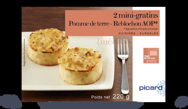 2 mini-gratins pomme de terre - Reblochon AOP
