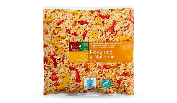 Riz cuisiné à l'italienne