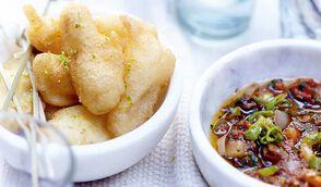 Beignets de salsifis et salsa piquante - Chez Requia