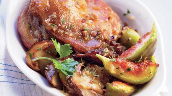 Recette cuisses de canard confites figues et c pes - Comment cuisiner les cuisses de canard ...