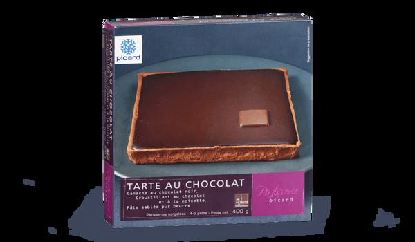 Tarte au chocolat, 4 à 6 parts