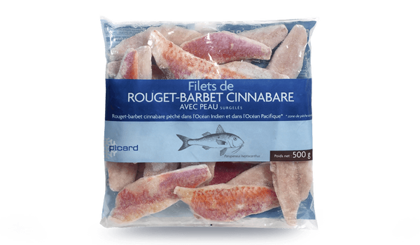 Filets de rouget barbet cinnabare