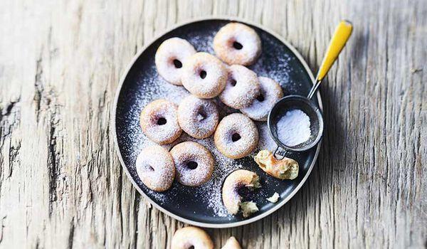 12 mini-donuts au sucre