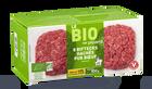 8 biftecks hachés bio