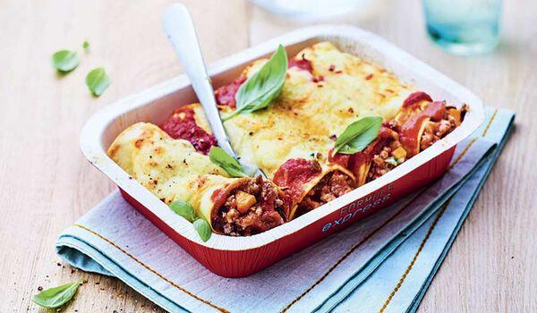 Cannelloni à la bolognaise