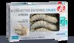 8 crevettes tropicales crues (20 au kg) Madagascar