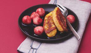 Foie gras poêlé et poire quatre-épices