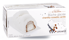 Bûche glacée chantilly-noisette-vanille, 8 parts