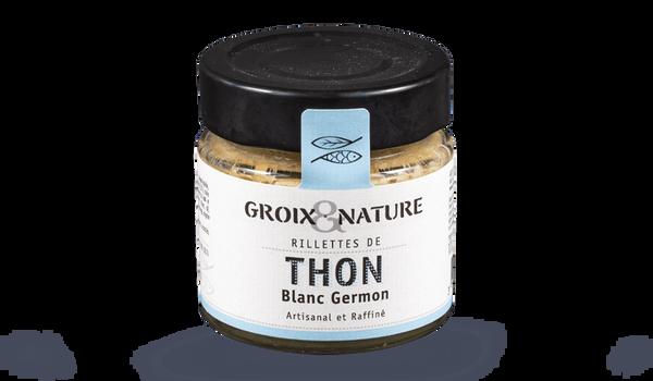 Groix et Nature Rillettes de Thon blanc Germon