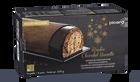 Bûche pâtissière roulée chocolat-noisette, 8 parts