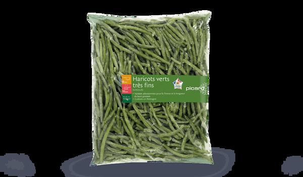 Haricots verts tr s fins surgel s les l gumes picard - Quels sont les meilleures varietes d haricot vert ...