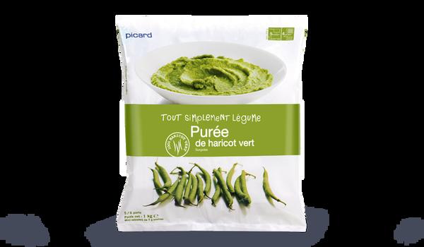 Purée de haricots verts, portionnable