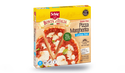 Pizza margherita sans gluten, à cuire