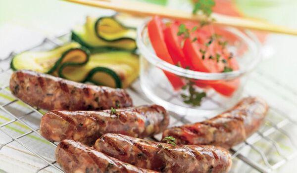 8 mini-saucisses d'agneau à la provençale