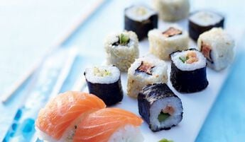 12 Sushi Maki Kawaï, assortiment de 5 variétés