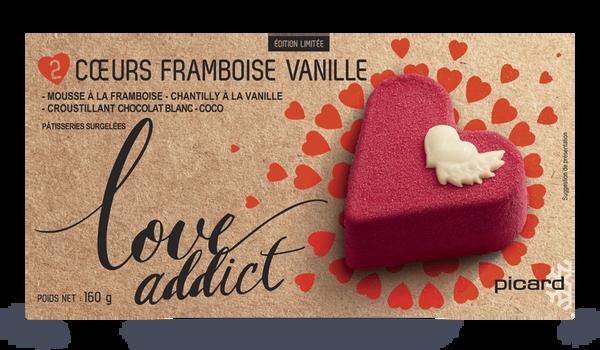 2 coeurs framboise-vanille